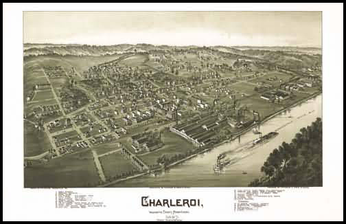 Charleroi Panoramic - 1897