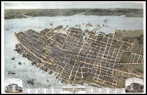 Charleston Panoramic - 1872