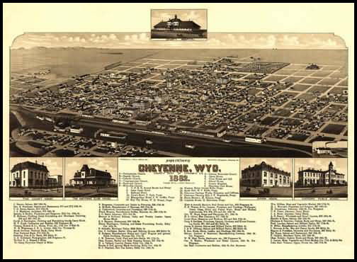 Cheyenne Panoramic - 1882