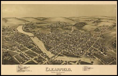 Clearfield Panoramic - 1895