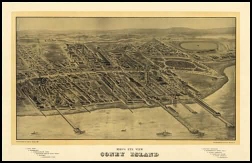 Coney Island Panoramic - 1906