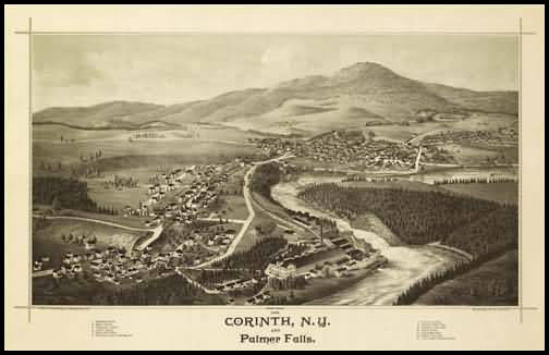 Corinth Panoramic - 1888