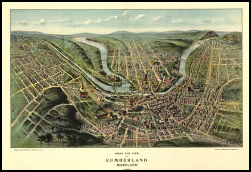 Cumberland Panoramic - 1906