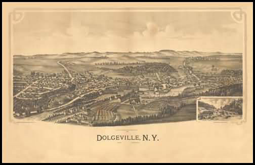 Dolgeville Panoramic - 1890