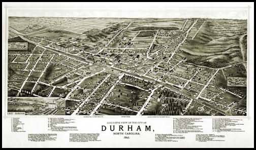 Durham Panoramic - 1891