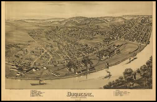 Dusquene Panoramic - 1897