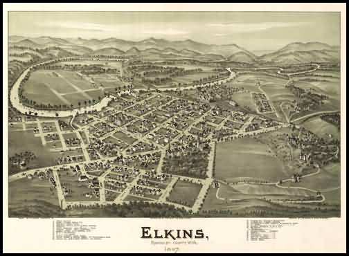 Elkins Panoramic - 1897