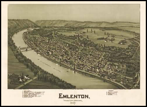 Emlenton Panoramic - 1897