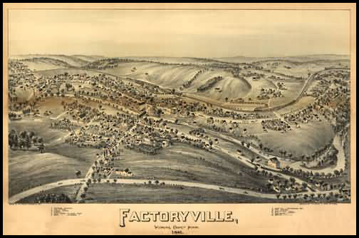 Factoryville Panoramic - 1891