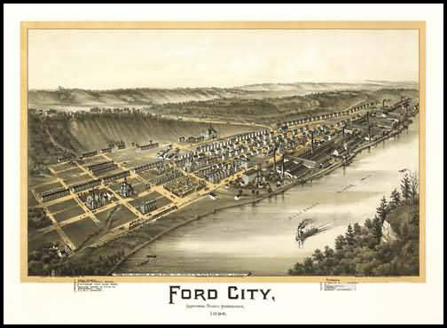 Ford City Panoramic - 1896