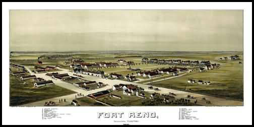 Fort Reno Panoramic - 1891