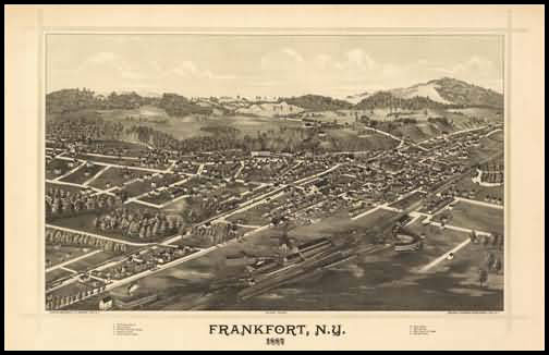 Frankfort Panoramic - 1887