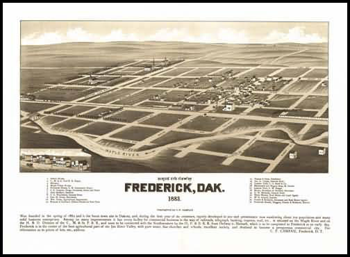 Frederick Panoramic - 1883
