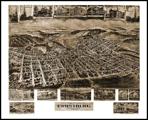 Frostburg Panoramic - 1905