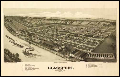 Glassport Panoramic - 1902