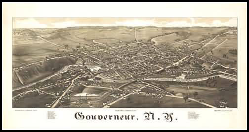 Gounerneur Panoramic - 1885