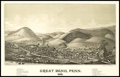 Greatbend Panoramic - 1887