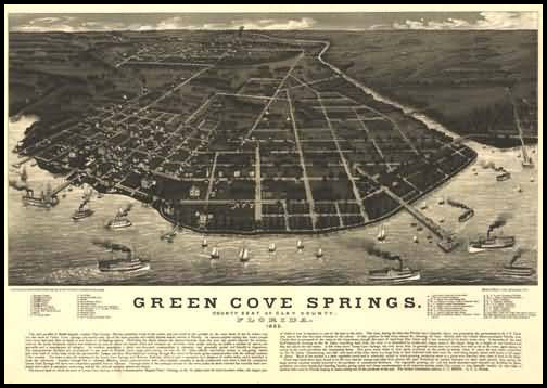 Green Cove Springs Panoramic - 1885
