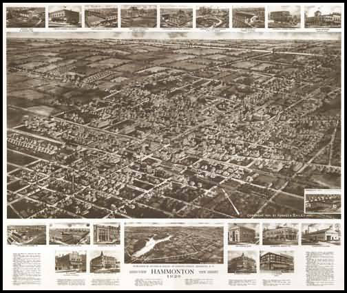 Hammonton Panoramic - 1926