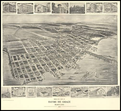 Havre De Grace Panoramic - 1907