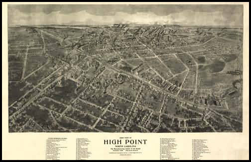 High Point Panoramic - 1918