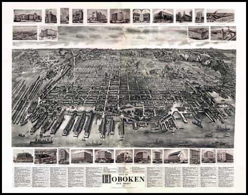 Hoboken Panoramic - 1904