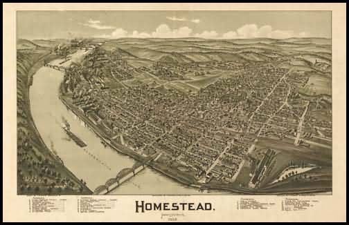 Homestead Panoramic - 1902