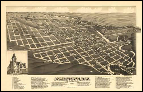 Jamestown Panoramic - 1883