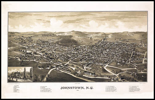 Johnstown Panoramic - 1888