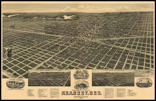 Kearney Panoramic - 1889