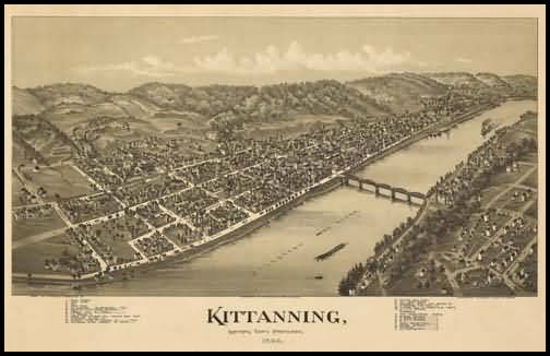 Kittanning Panoramic - 1896