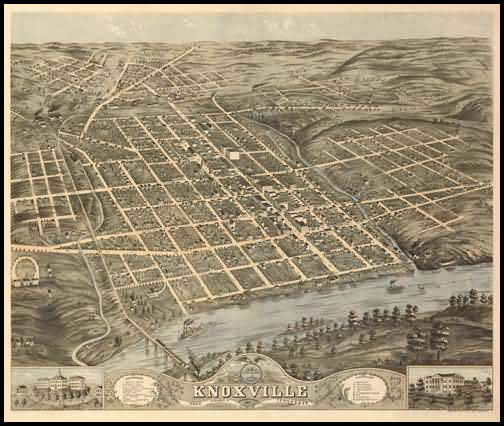 Knoxville Panoramic - 1871