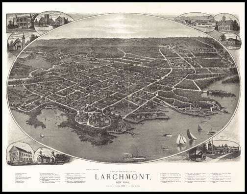 Larchmont Panoramic - 1904