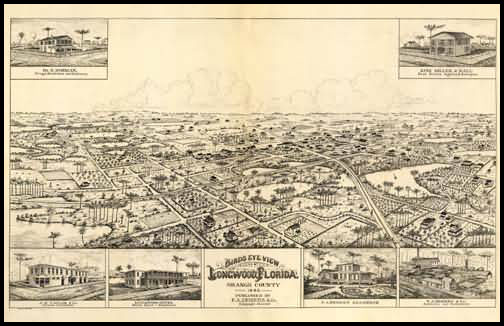 Longwood Panoramic - 1885