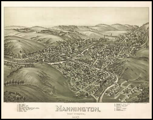 Mannington Panoramic - 1897