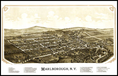 Marldorough Panoramic - 1891