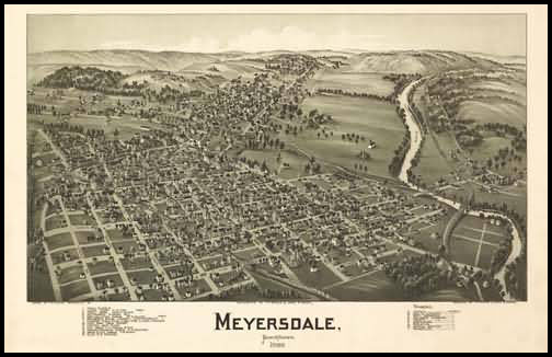 Meyersdale Panoramic - 1900