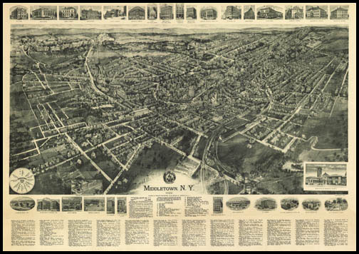 Middletown Panoramic - 1922