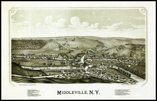 Middleville Panoramic - 1890