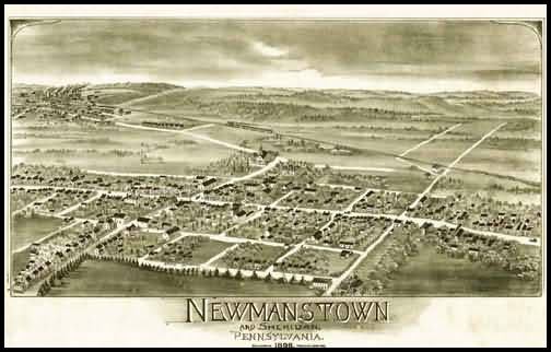 Newmanstown Panoramic - 1898