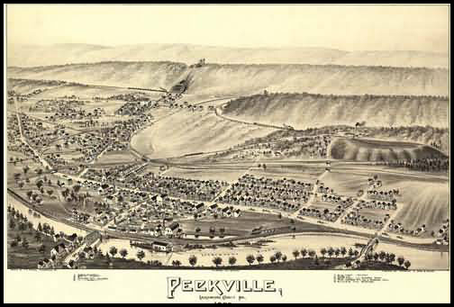 Peckville Panoramic - 1892