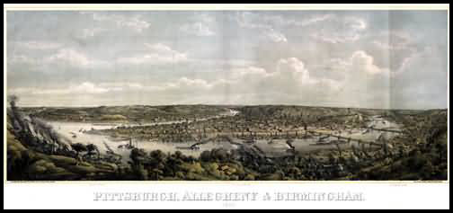 Pittsburgh Panoramic - 1871