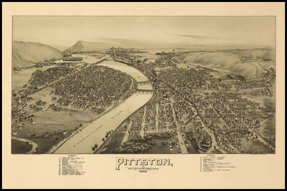Pittston Panoramic - 1892