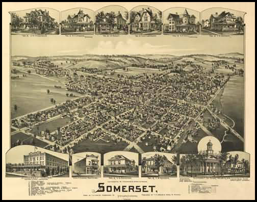 Somerset Panoramic - 1900