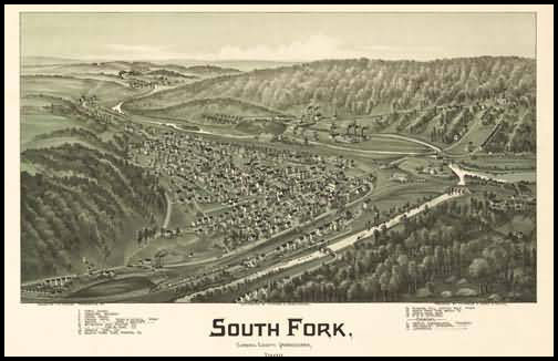 South Fork Panoramic - 1900