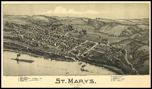 St Mary's Panoramic - 1899