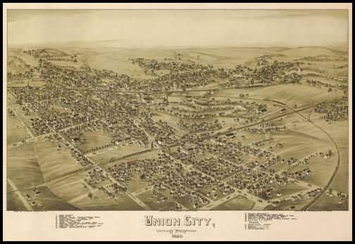Union City Panoramic - 1895