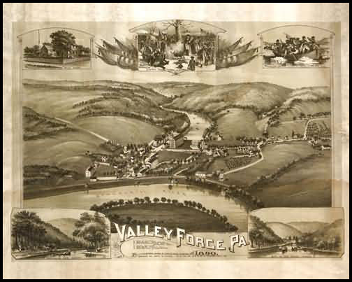 Valley Forge Panoramic - 1890