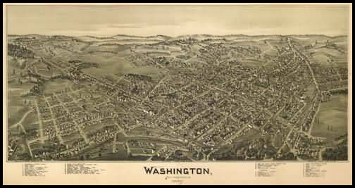 Washington Panoramic - 1897