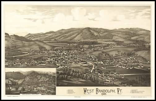 West Randolph Panoramic - 1886